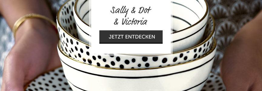 Sally, Dot und Victoria